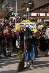 Matschgerer Fasching Karneval Umzug Absam Tirol Österreich