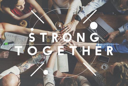 Together Community Team Suport Relation Concept