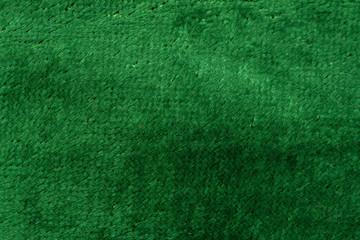 green velvet as background