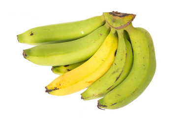 The picture of Banana. Bunch of Bananas isolated picture on white background.