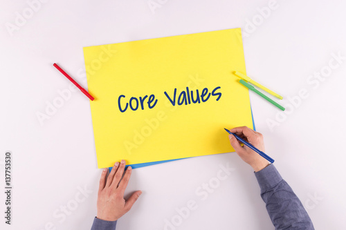 values essay core values essay