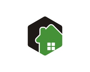 Hexagonal House Logo V1