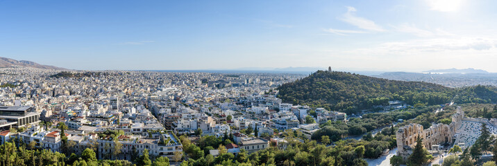 Panoramic view of Athens 1