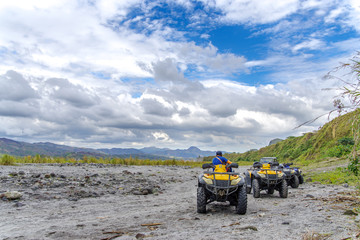 Four-wheel drive tour at Mountain Pinatubo
