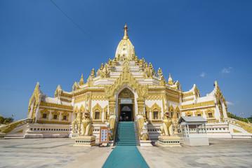 Buddha Tooth Relic Pagada in Yangon, Myanmar