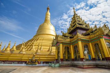 Shwemawdaw or Mutao Pagoda in Bago, Myanmar
