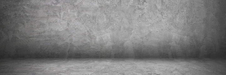 Wall Mural - horizontal cement and concrete wall and floor with shadow for pattern and design