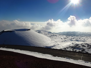 Hawaii, Big Island. Mauna Kea Vulkan / Volcano
