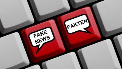 Fake News oder Fakten online