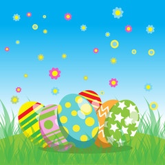 Easter vector image for your idea design