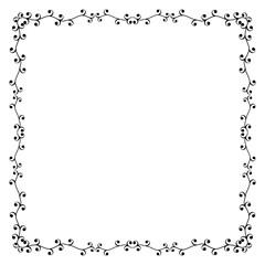 Decorative frame and border