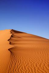 La pose en embrasure Desert de sable Sand Dunes Morocco desert