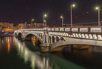 Bridge over the Rhone river 3