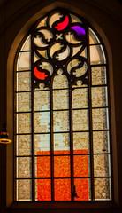 Papiers peints Carnaval Modernes Kirchenfenster in einer Kirche in Greven