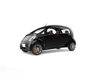 Black electric economic modern car