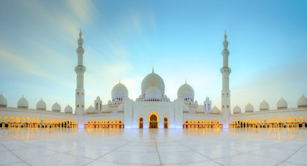 Sheikh Zayed Grand Mosque Wall mural