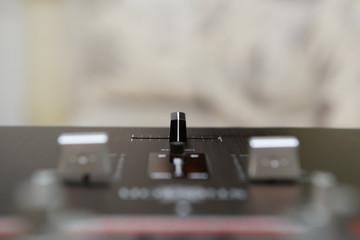 Profesional dj sound mixer