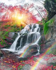Waterfall Shepit Transcarpathia