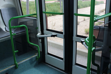 interior bus photo