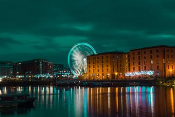 Wheel Of Liverpool At Albert Dock, Liverpool, UK