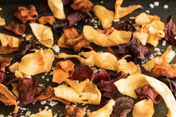 Chips von Gemüse