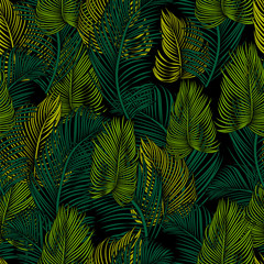 Seamless tropical pattern