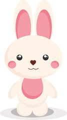 Happy Easter. Bunny.
