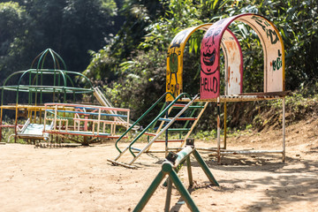 Playground in Northern Thailand
