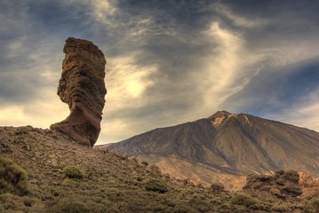 Teide peak in Tenerife. Canary Islands.