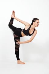 Beautiful sporty woman