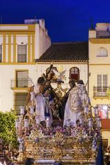 hermandad de la trinidad, misterio del decreto, semana santa de Sevilla