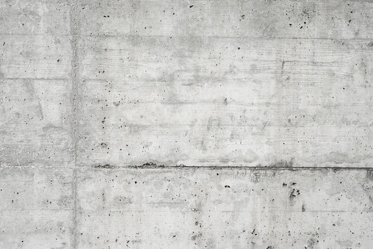 Abstract empty background.Photo of blank concrete wall texture. Grey washed cement surface.Horizontal.