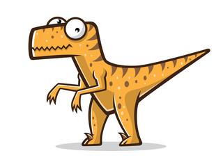 Cartoon Funny Raptor