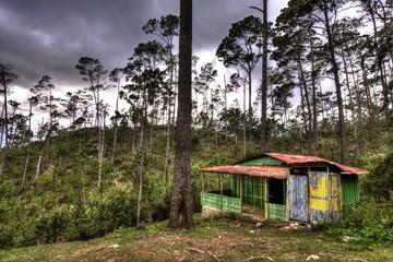 Tin House, Basecamp, Pico Duarte, Tallest Caribbean Mountain