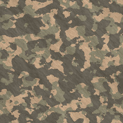 Seamless  pattern   of camouflage fabric