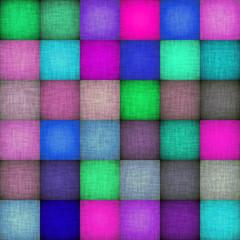 Seamless  pattern   of checkered fabric