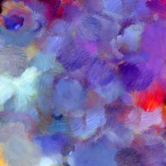 Oil paints smear texture