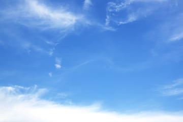 vast blue sky