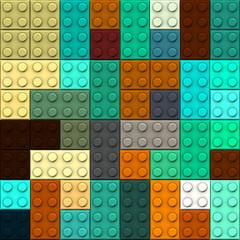 Seamless  background with Lego bricks