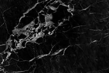 black marble pattern texture background. Interiors marble stone wall design (High resolution).