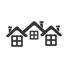 real estate house icon vector illustration design