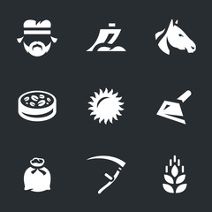 Vector Set of Agriculture Icons.