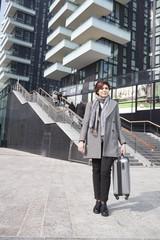 Donna in città