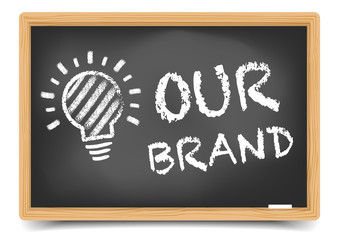 Blackboard Our Brand