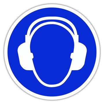 Panneau de chantier : Eéquipement anti-bruit obligatoire