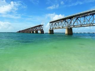 old bridge in florida keys