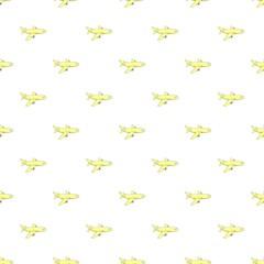 Plane pattern, cartoon style