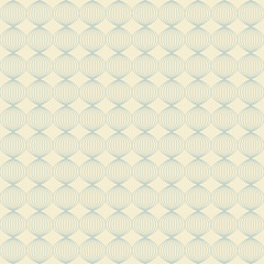 Seamless Trellis Lattice Vintage Pattern Background