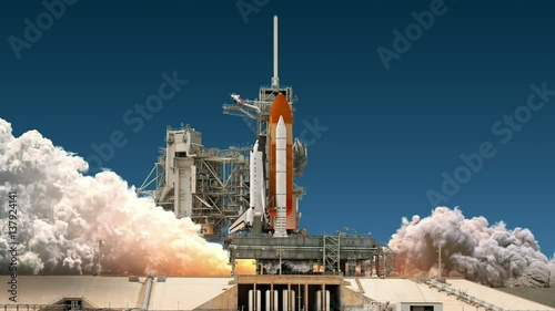Space shuttle launch realistic 4k ultra high definition - 4k space shuttle ...