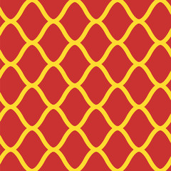 Vector seamless background for historical objects of medieval design. Red with gold. Can be used for gift wrapping.
